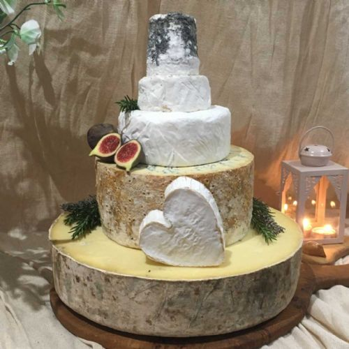 Fleur Wedding Cheese Cake, 12.4 kg wedding cheese tower
